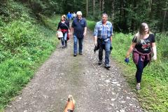 Gemeinsamer Wandertag EFG, BV, Fortuna und MGV 2017