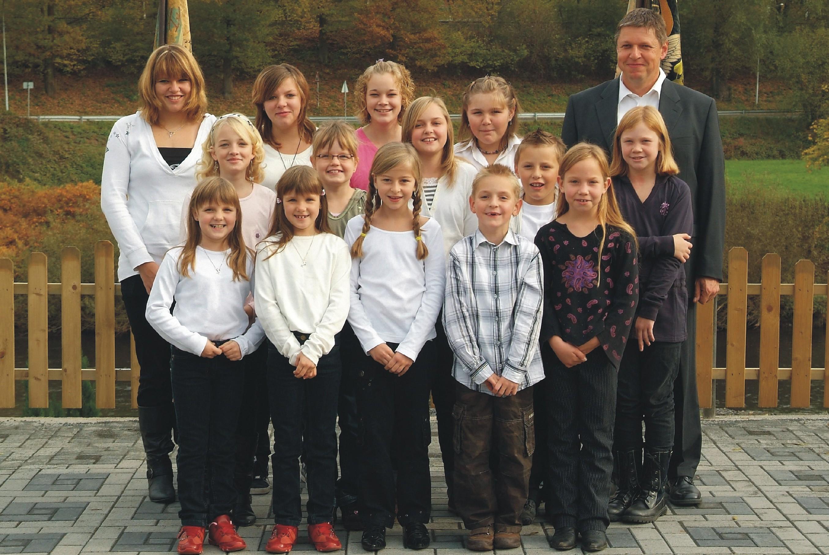 Gruppenbild Kinderchor 2009