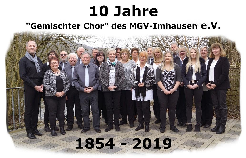 Gruppe Gemischter Chor Bild 2019 verkleinert