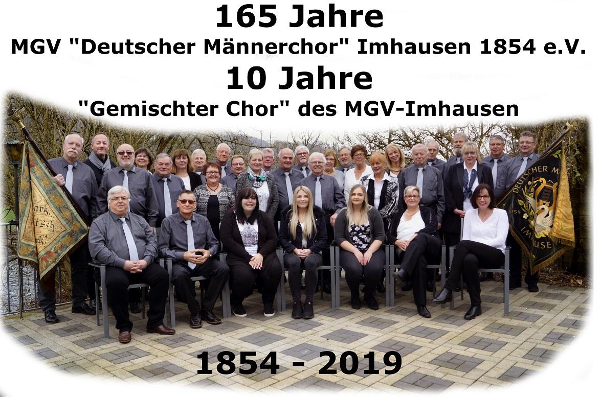 Gruppe MGV und Gemischter Chor 2019 verkleinert